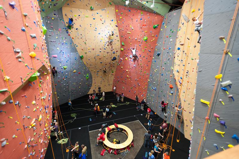 Climbing Gym - Vertical World Seattle