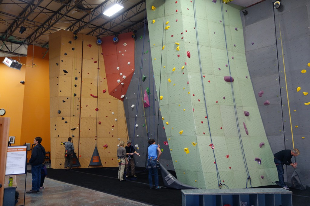 Redmond Vertical World 2015 remodel with Elevate Climbing Walls